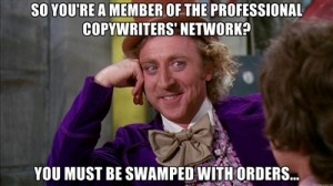 Member of the Professional Copywriters' Network?