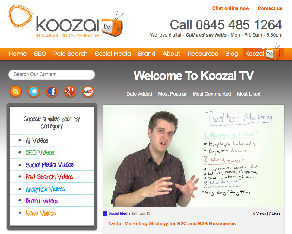 Koozai do a great job of creating and sharing useful content