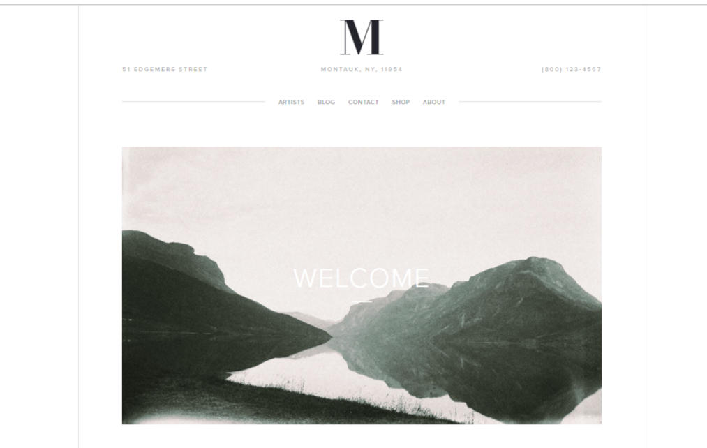 7 of the best Squarespace templates for writers Copify blog 1