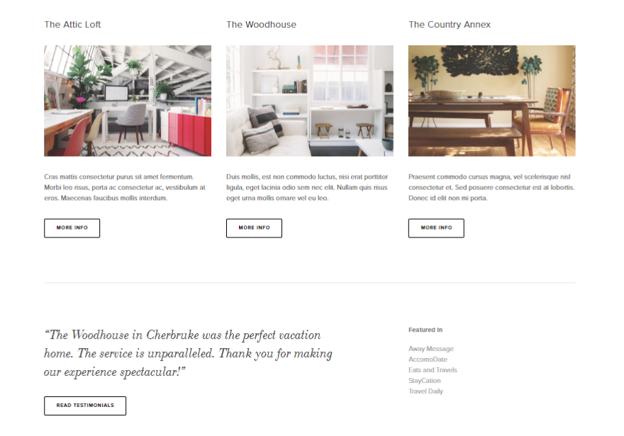 7 of the best Squarespace templates for writers Copify blog 4