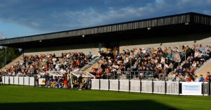 The Sir Tom Finney Stadium - home of the great Bamber Bridge FC!