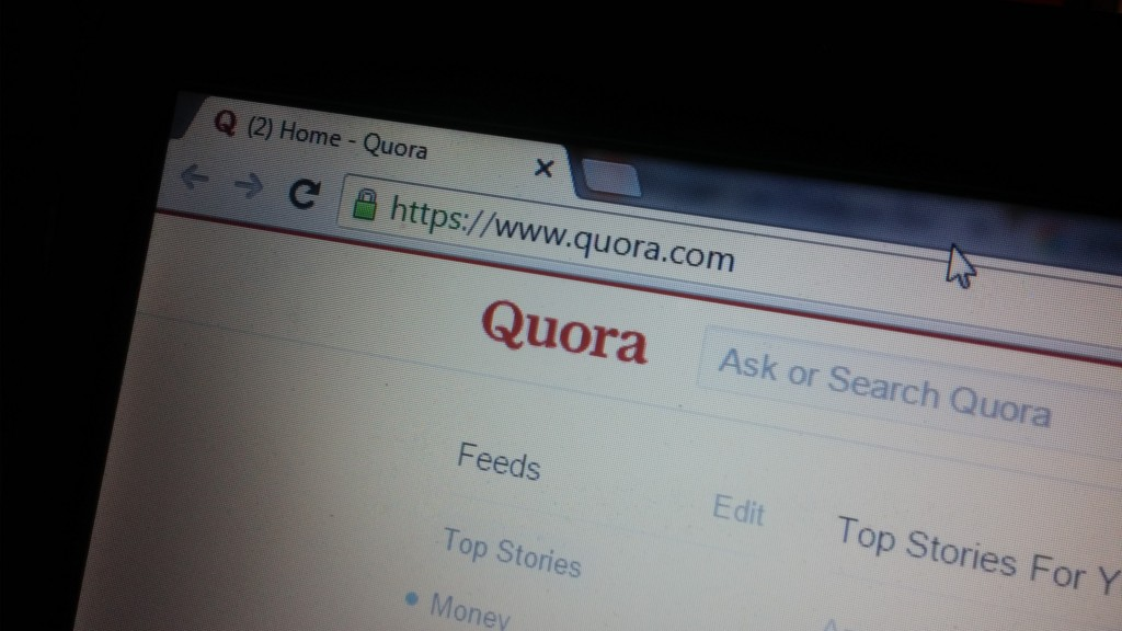 Quora - one of the best content writing tools